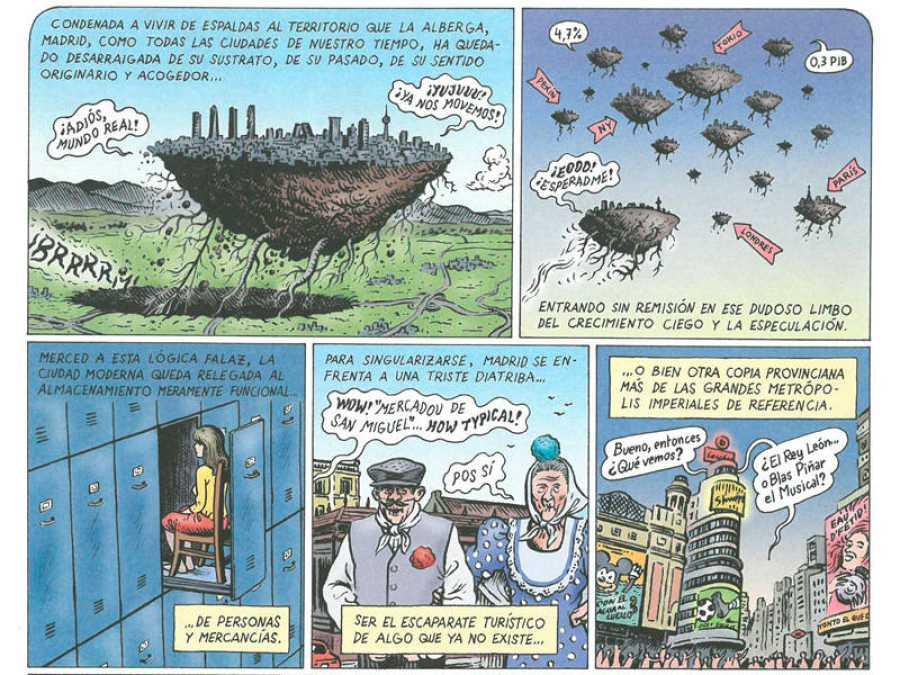 Viñetas de 'La gran aventura humana'