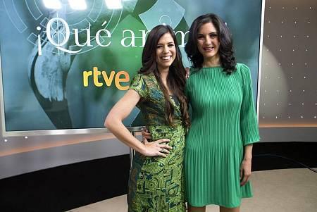 Evelyn y Judith Fernández, directora de '¡Qué animal!'