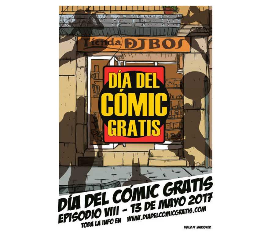 Cartel del 'Día del Cómic Gratis'