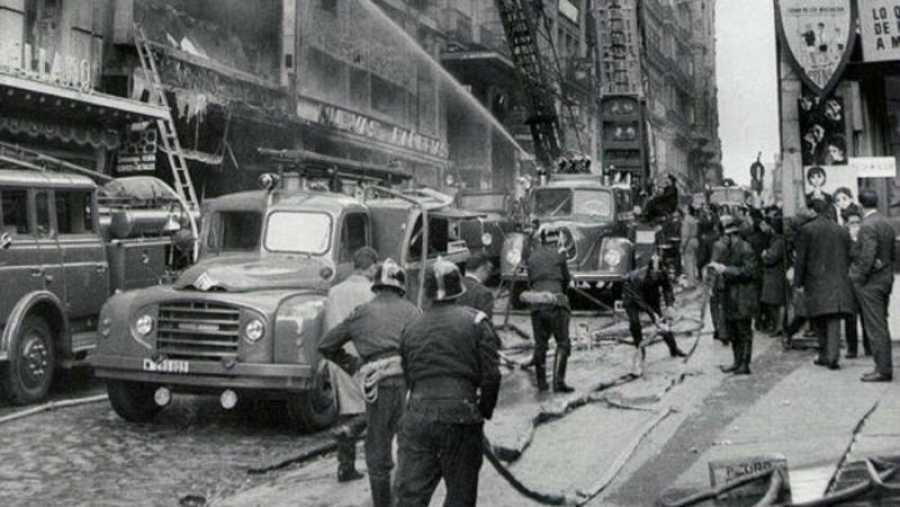 Incendio de Almacenes Arias en 1987