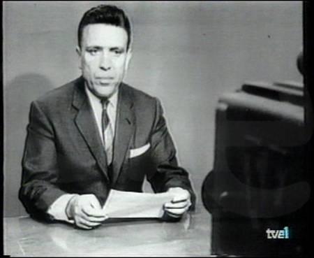 David Cubero, primer redactor jefe de TVE y uno de los presentadores pioneros