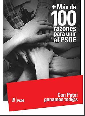 'Mas de 100 razones para unir al PSOE', documento de Patxi López.