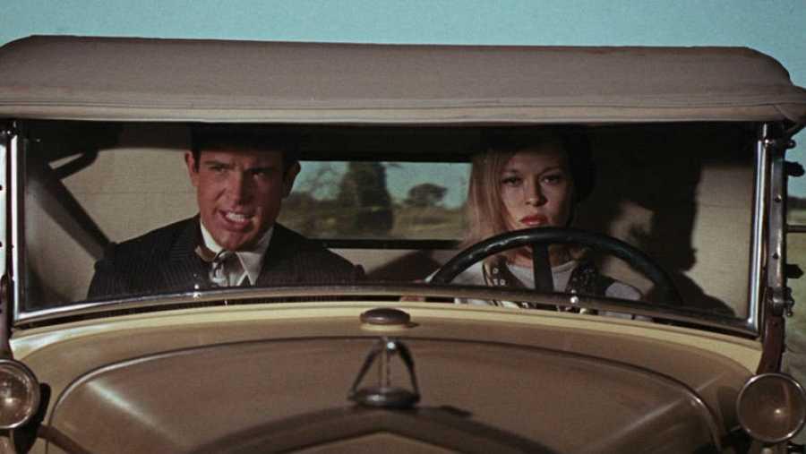 Fotograma de la película sobre Bonnie & Clyde de 1967