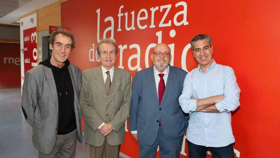 Otra imagen de nuestros invitados en Rne Madrid