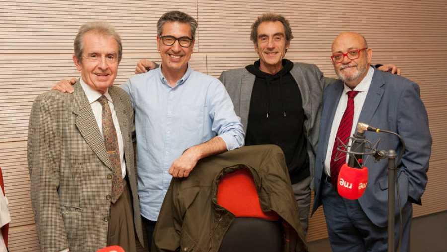Juan Rada, Arturo Martín, Jesús González y Pérez Abellán