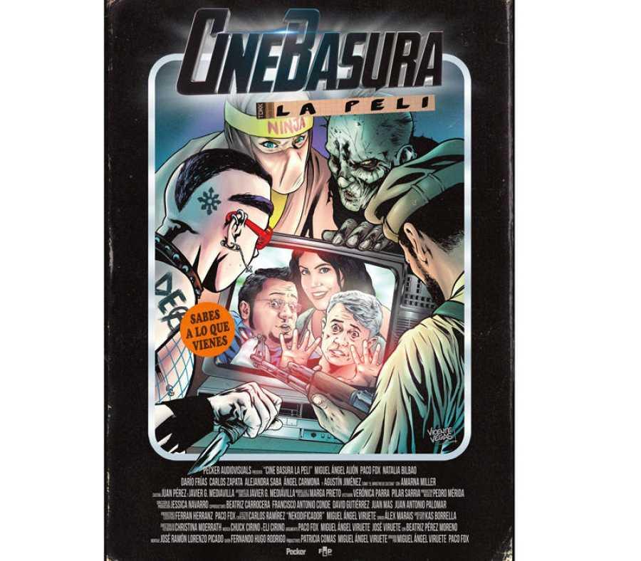 Cartel de 'Cinebasura: la peli'
