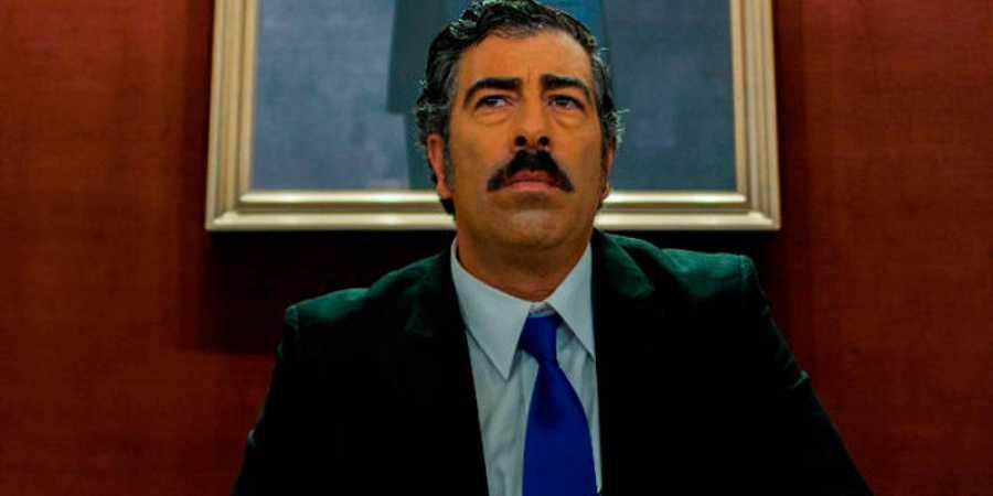 Agustín JIménez interpreta al ministro de cultura