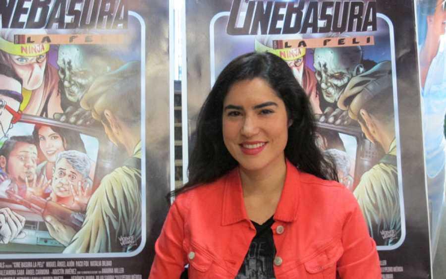 Natalia Álvarez Bilbao, protagonista de 'Cinebasura: la peli'