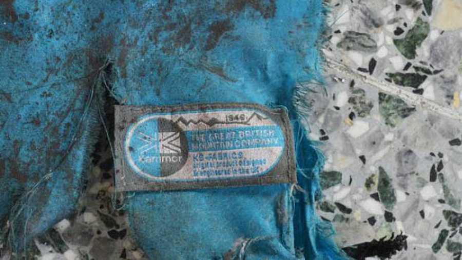 Fotografía, publicada por el New York Times, de restos de una mochilla hallados en el lugar del atentado de Mánchester