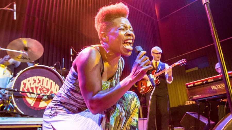 Maika Sitté, madrileña de origen guineano, es la voz de Freedonia