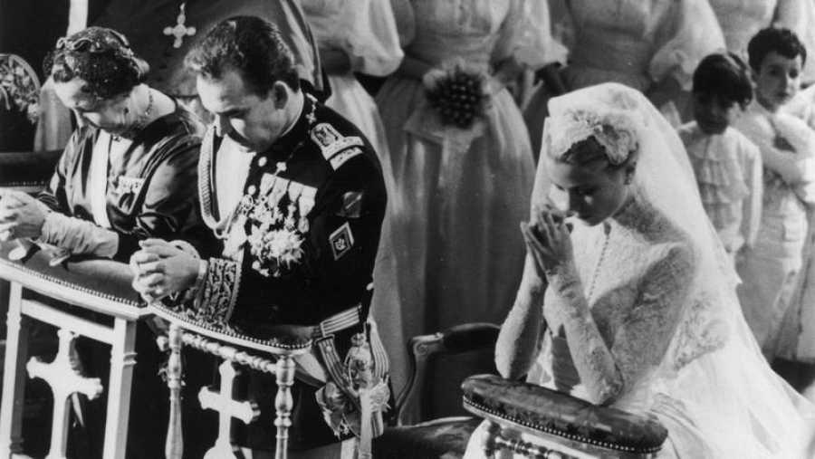 Grace Kelly se casó con el príncipe Rainiero de Mónaco en 1956