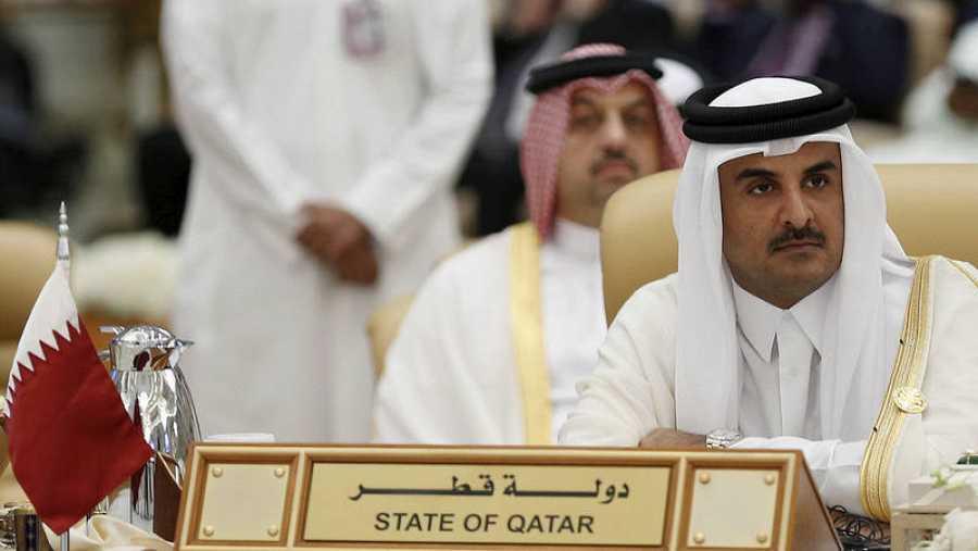 El emir de Catar, Tamim bin Hamad al-Thani, en una imagen de archivo