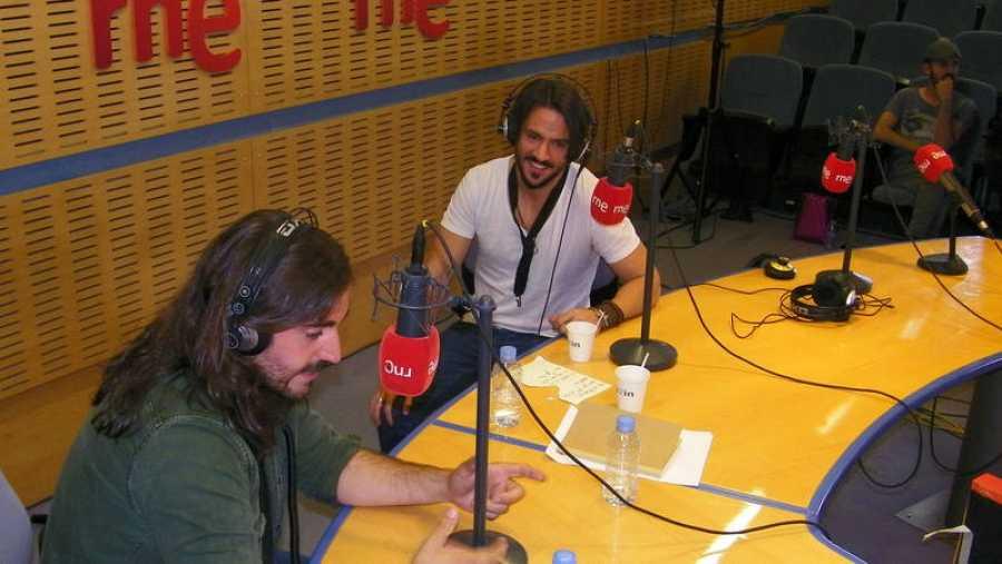 Miguel Sueiras y Andrés Suárez, amigos desde la adolescencia