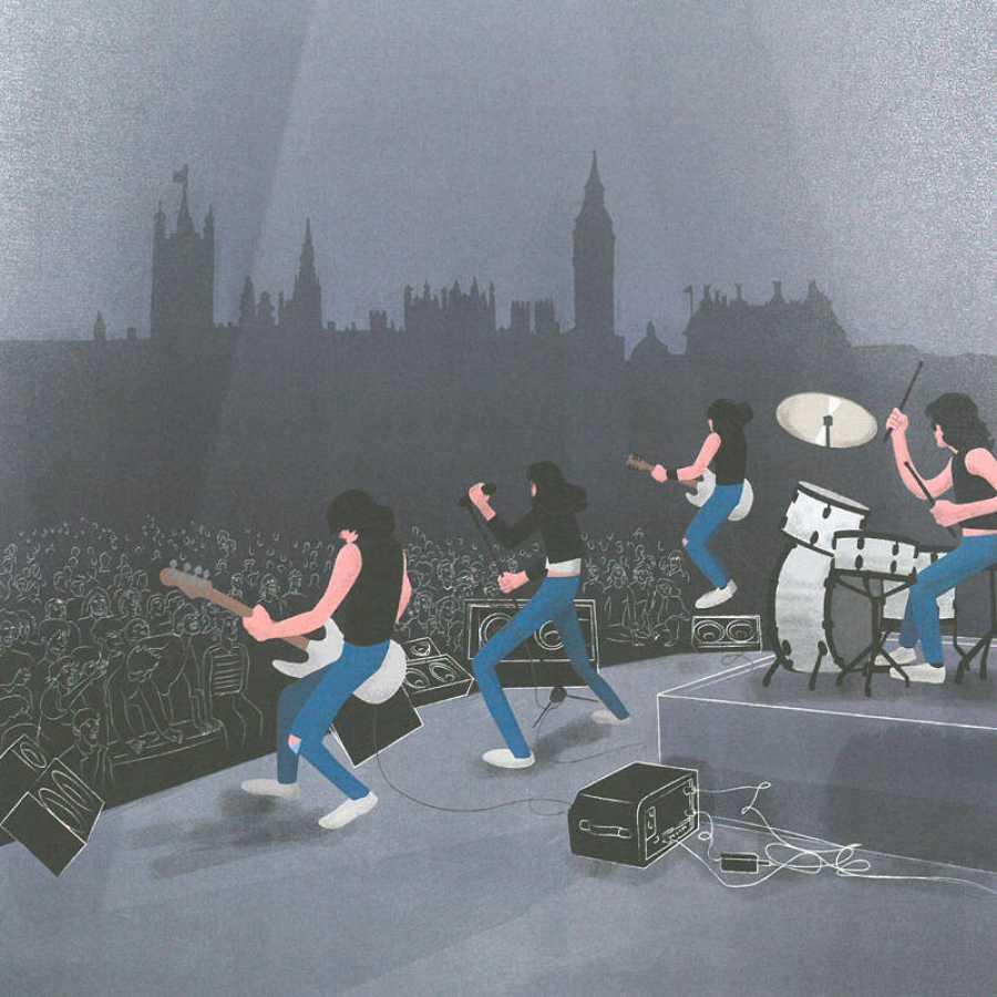 Ilustración de 'Ramones'