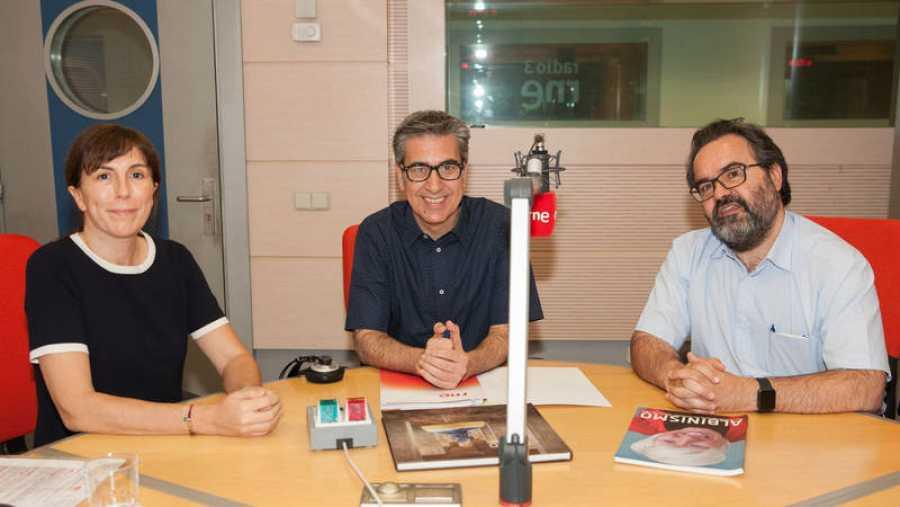 Arturo Martín recibe en Rne Madrid al doctor Montoliú y a Ana Palacios