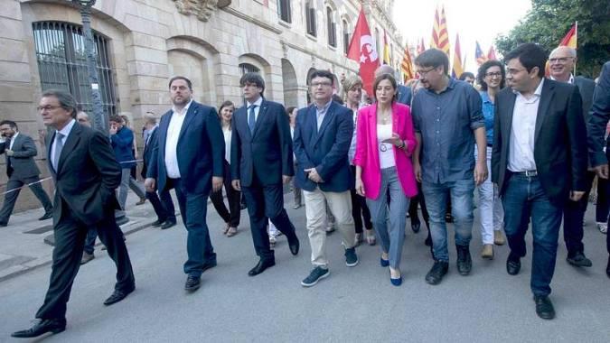 Joan Josep Nuet declara ante el juez que que no es independentista sino democráta