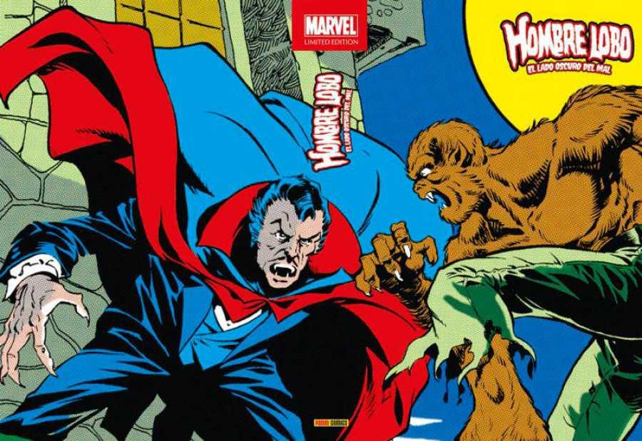 Portada del  segundo tomo de 'Marvel Limited Edition: Hombre Lobo'