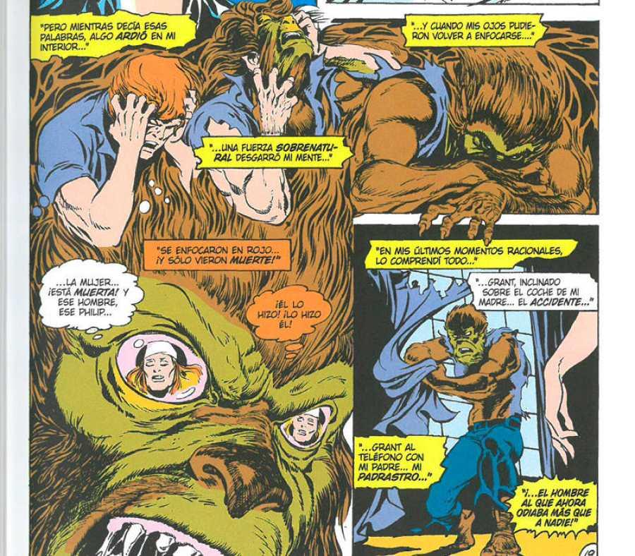 La transformación del Hombre Lobo