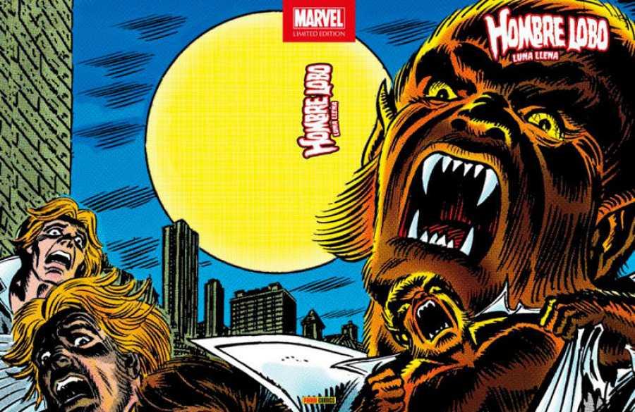 Portada de 'Marvel Limited Edition. Hombre Lobo: Luna llena'
