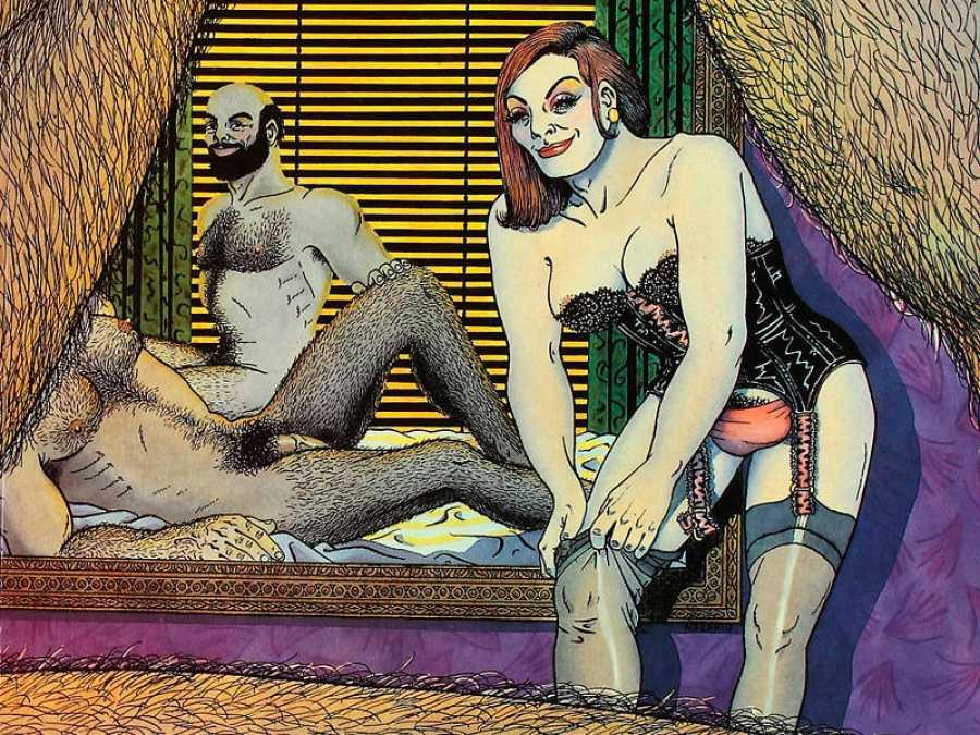 Fragmento de la portada del segundo tomo de Anarcoma