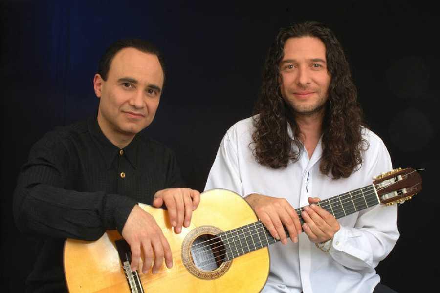 El pianista Michel Camilo, junto a Tomatito, el maestro de la guitarra