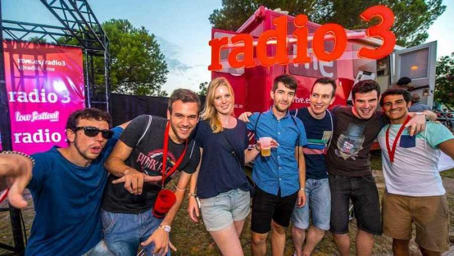 Un verano más Radio 3 estará en directo desde los mejores festivales