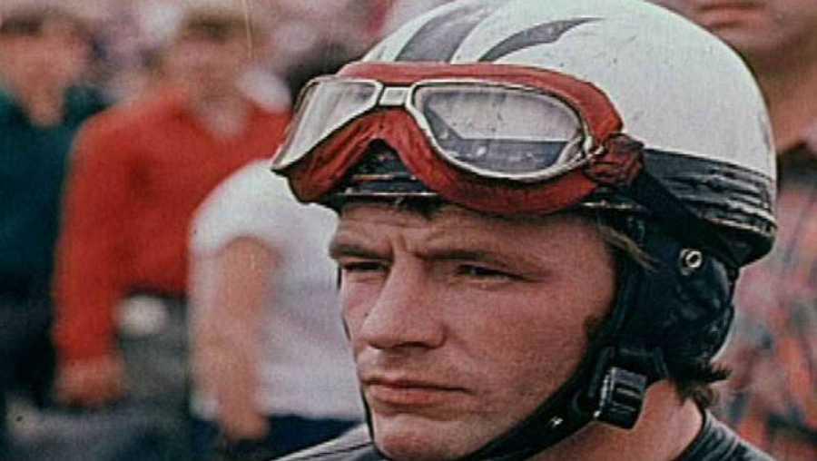 El piloto Ángel Nieto