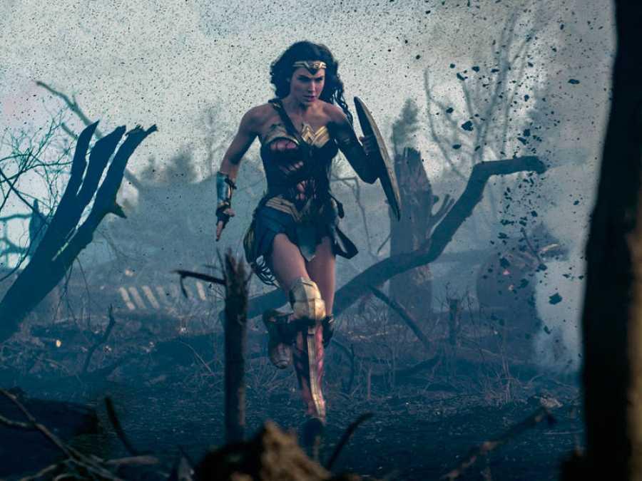 Wonder Woman en acción