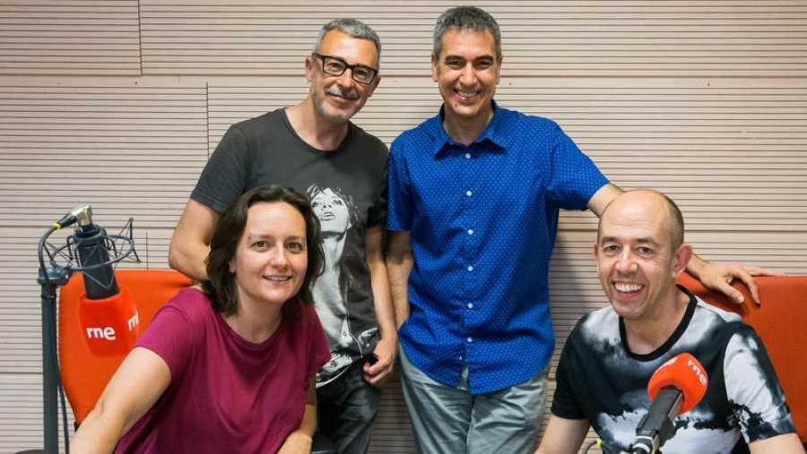 Violeta Assiego, Paco Tomás y Jesús Generelo, en Rne Madrid con Arturo Martín