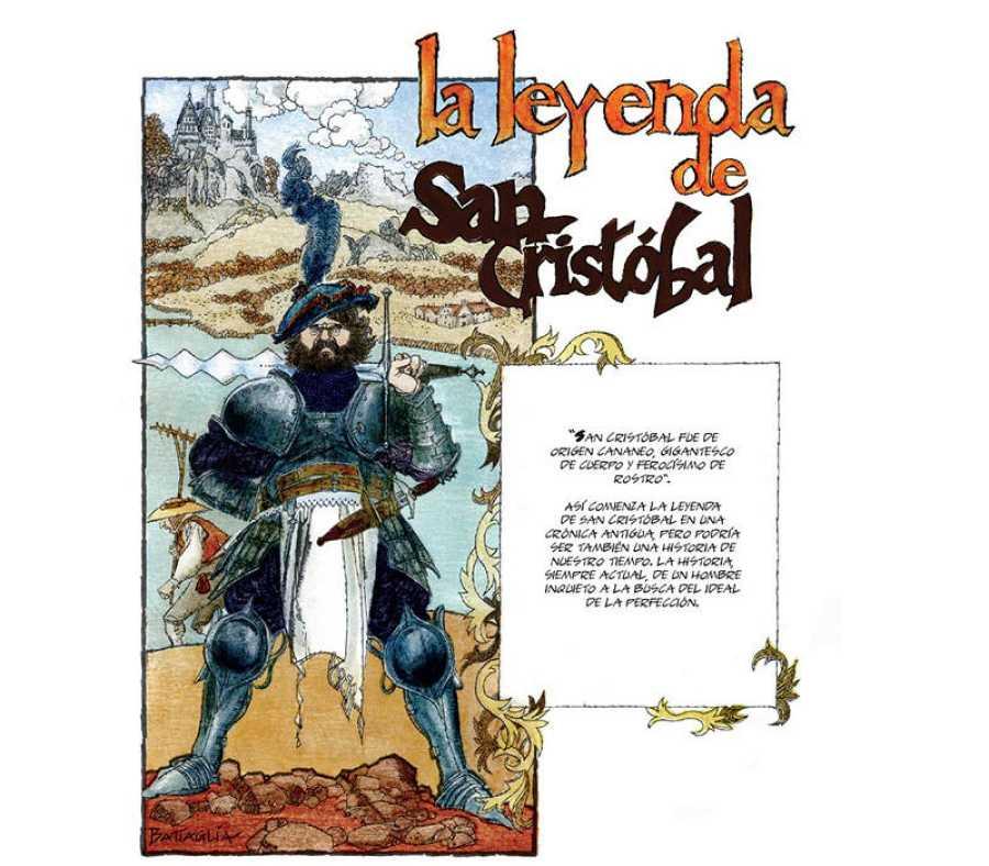 Página de  'La leyenda de San Cristóbal'