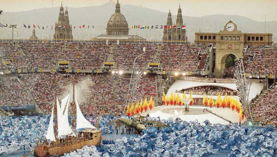 Ceremonia de apertura, diseñada por Bassat