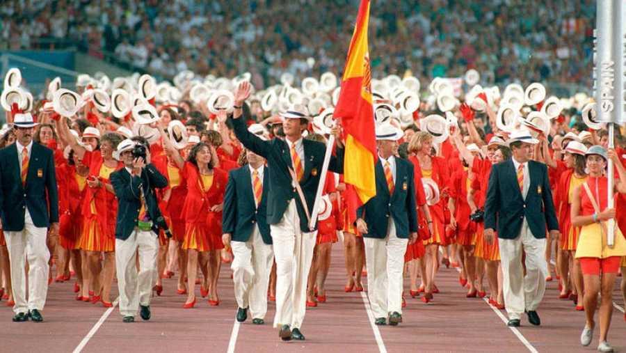 Felipe VI, abanderado en la inauguración de los Juegos