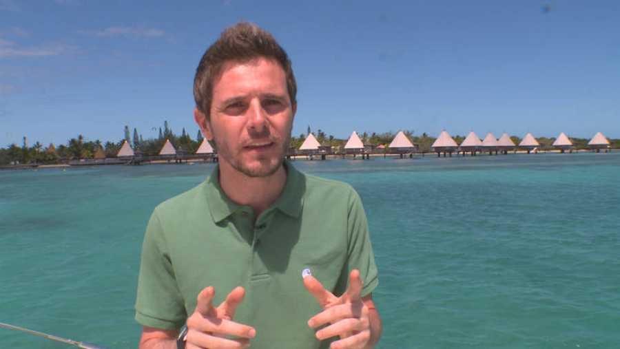 Luis Calero, uno de los reporteros de 'Españoles en el mundo', viaja a Nueva Caledonia