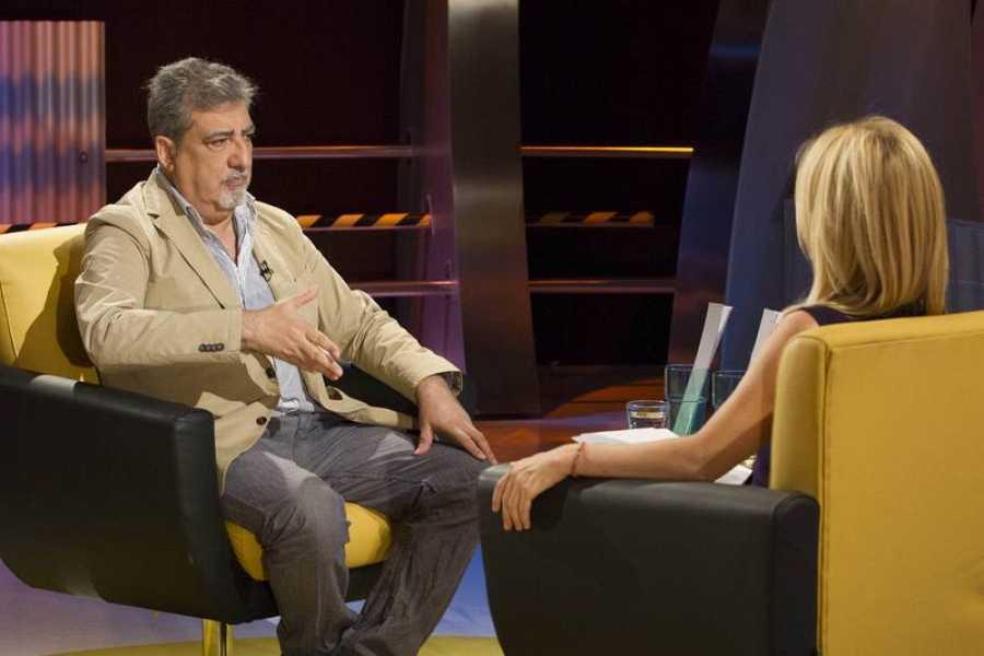 Cayetana Guillén Cuervo habla con nuestro invitado de este montaje y repasa con él su vida y sus trabajos anteriores.