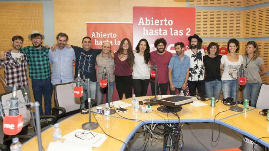 Imagen final del programa en el adiós a la banda madrileña