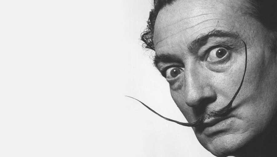 Salvador Dalí falleció en 1989