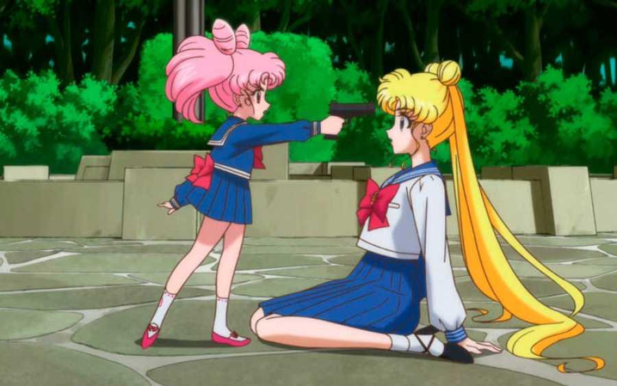 Fotograma de la serie de 'Sailor Moon'