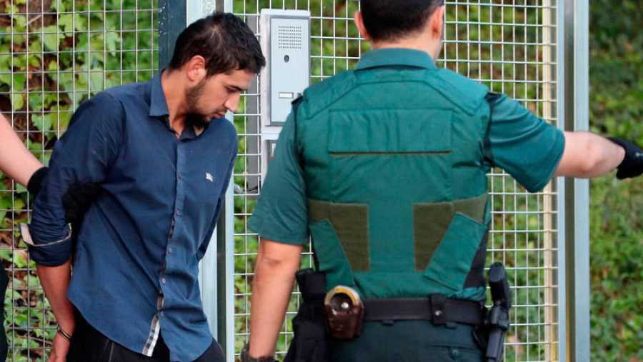 Mohamed Aallaa, de 27 años, uno de los cuatro detenidos por el doble atentado en Cataluña