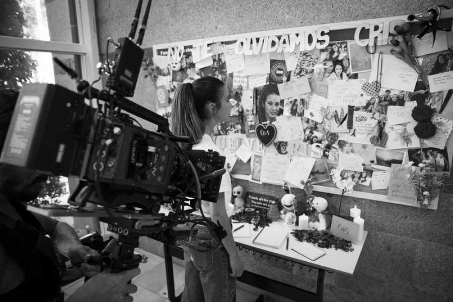 María Pedraza interpreta a una chica desaparecida y a una nueva alumna de instituto