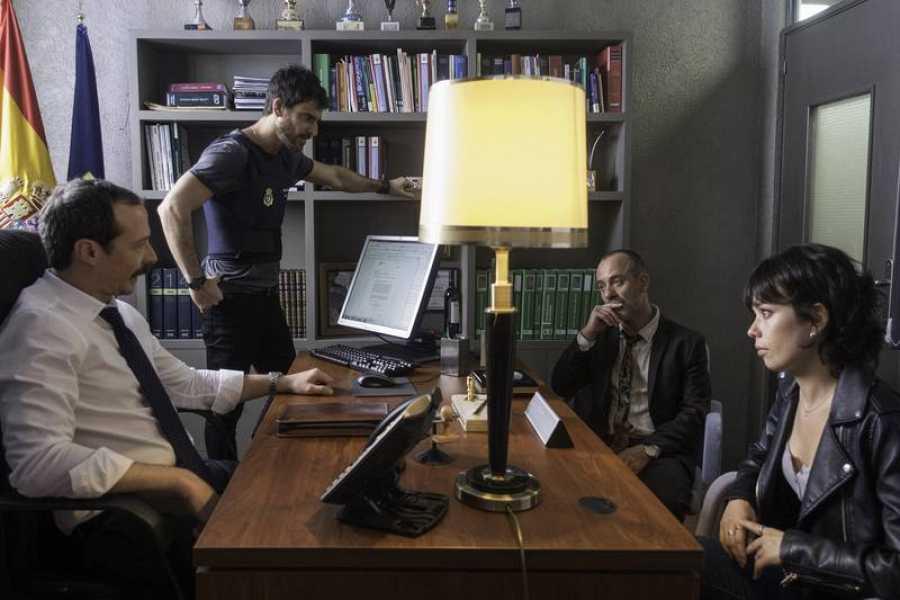 Imagen del rodaje de 'Estoy vivo'