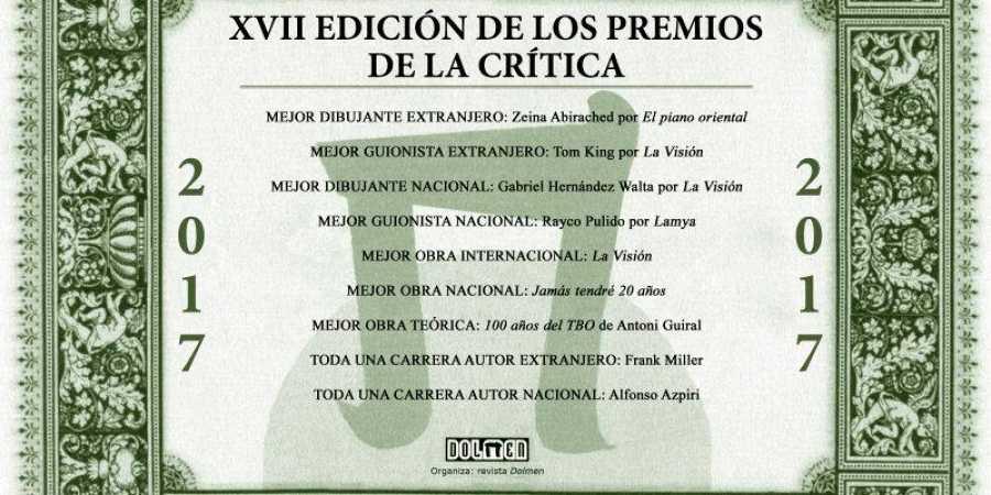 Los Premios de la Crítica