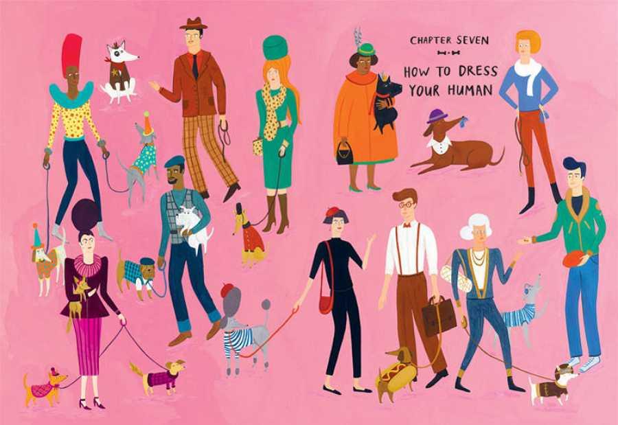 Ilustración de 'Cómo cuidar de tu humano'