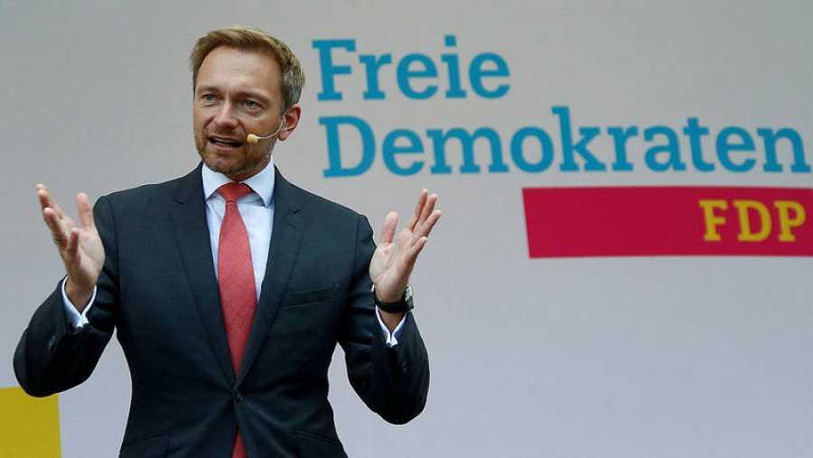 El líder del Partido Liberal (FDP), Christian Lindner