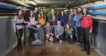El equipo del programa ¡Qué animal!