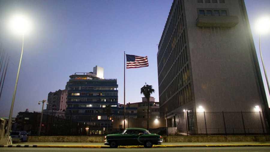 La embajada de Estados Unidos en La Habana