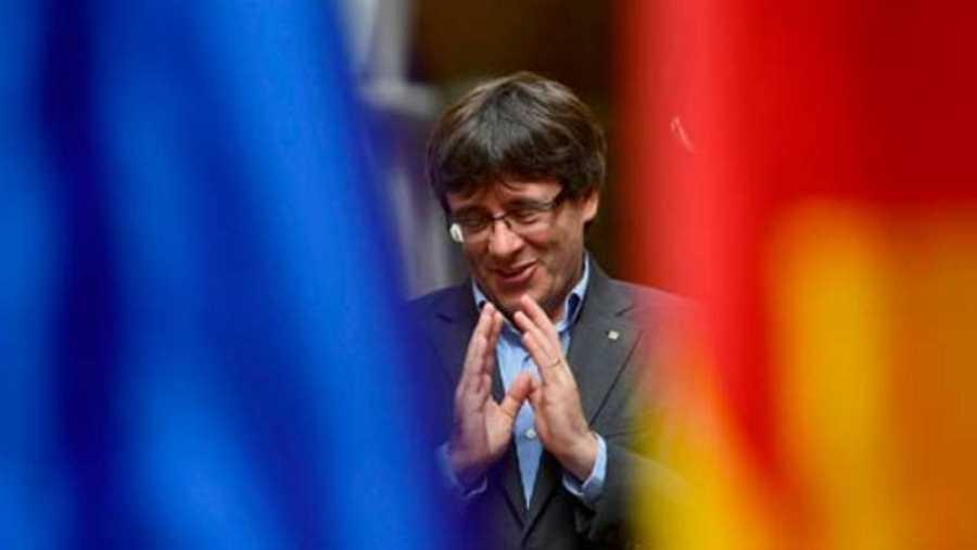 El presidente de la Generalitat, Carles Puigdemont (AFP)
