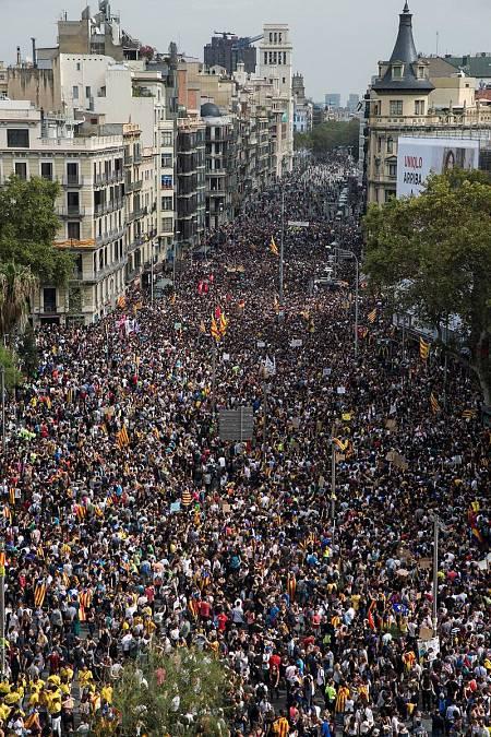 Las Universidades catalanas se suman al paro de rechazo a la actuación policial el 1-O