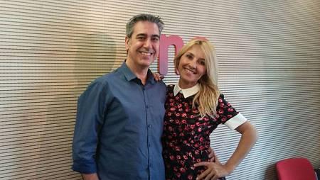 Arturo Martín, con Cayetana Guillén Cuervo