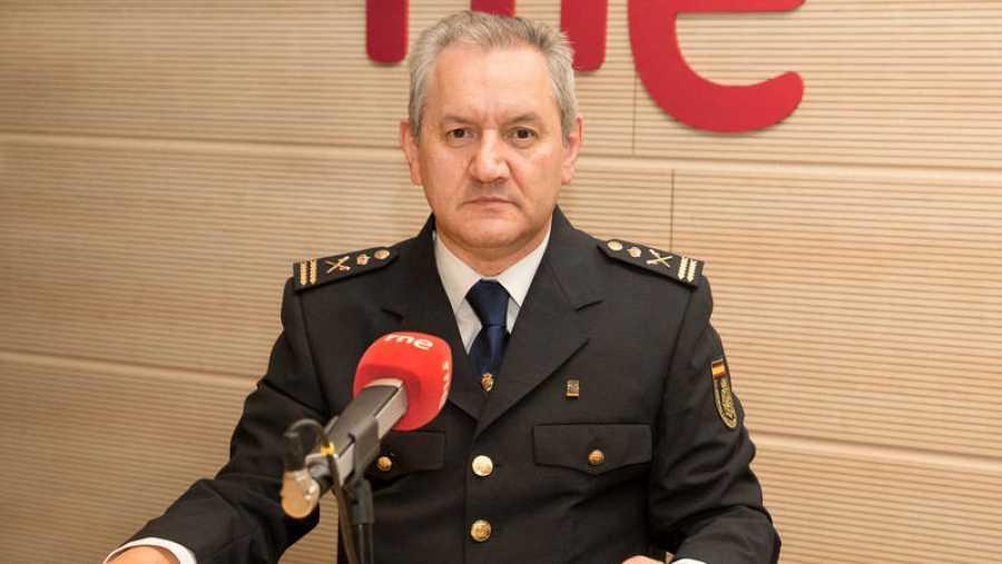 Esteban Gándara era inspector durante sus colaboraciones en el programa de TVE