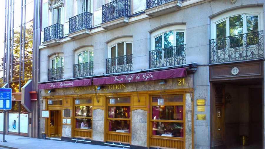 El Café Gijón de Madrid
